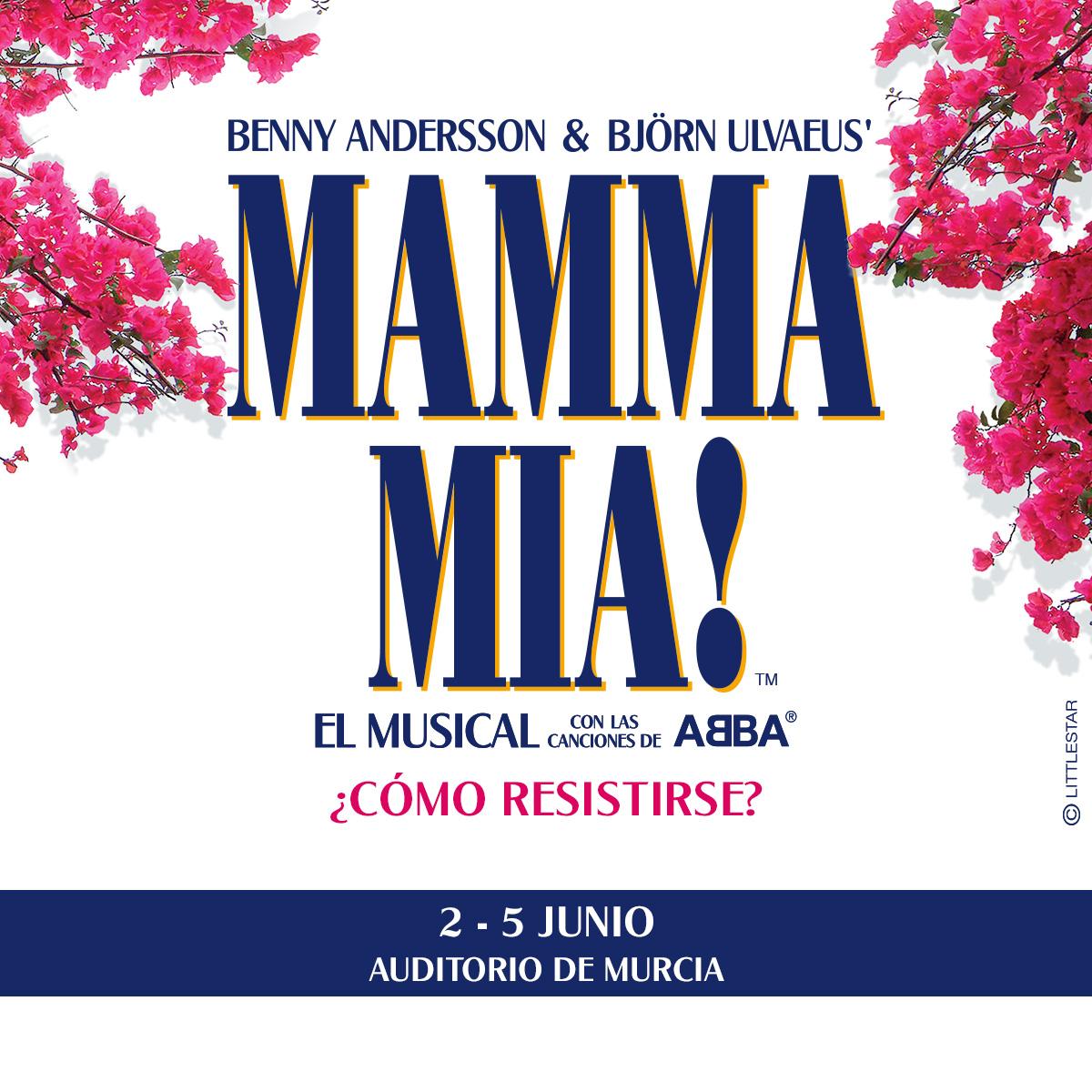 Musical Mamma Mia en Murcia