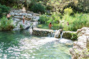 Baños de Somogil en Moratalla
