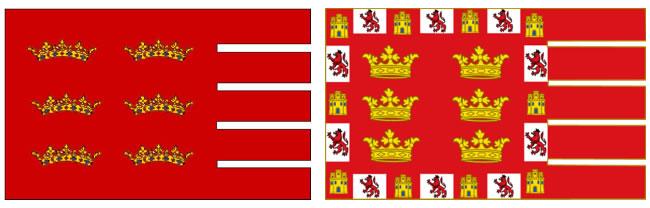 bandera murcia antiguas