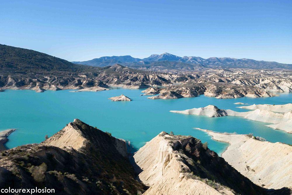 Barranco Gebas y Sierra Espuña al fondo