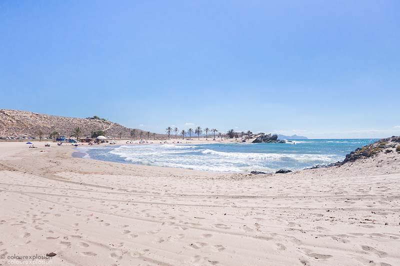 playa de percheles calnegre