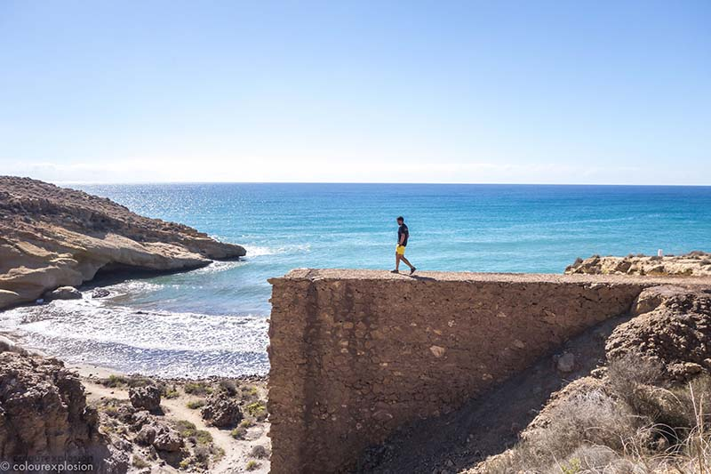 playa del palomarico calnegre