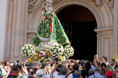 Virgen de la Fuensanta en su Romería