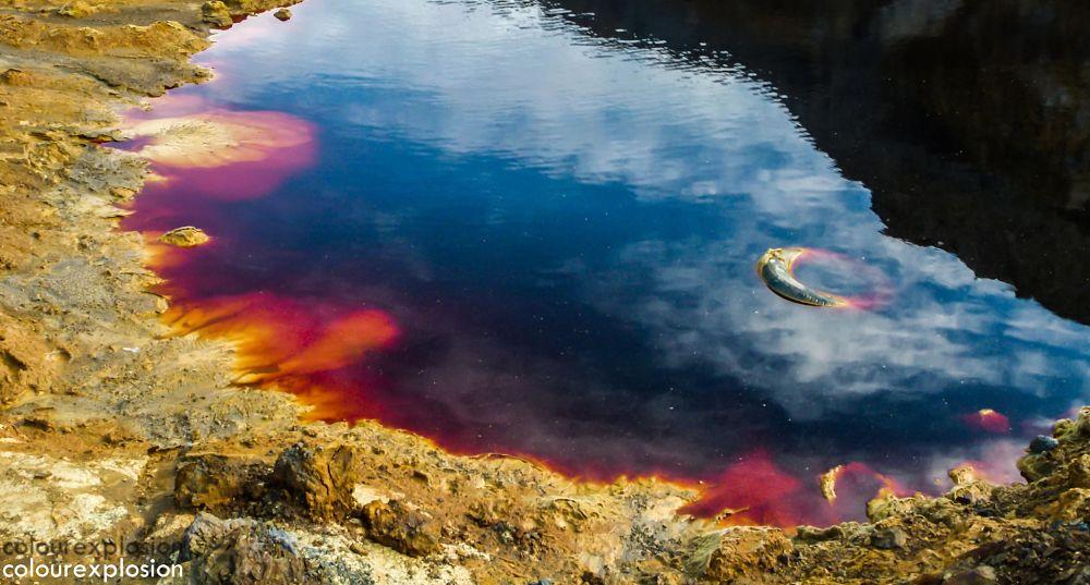 Laguna Roja en Mona Brunita, La Unión
