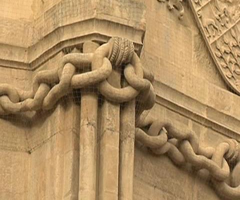 la cadena de la catedral de murcia me encanta murcia
