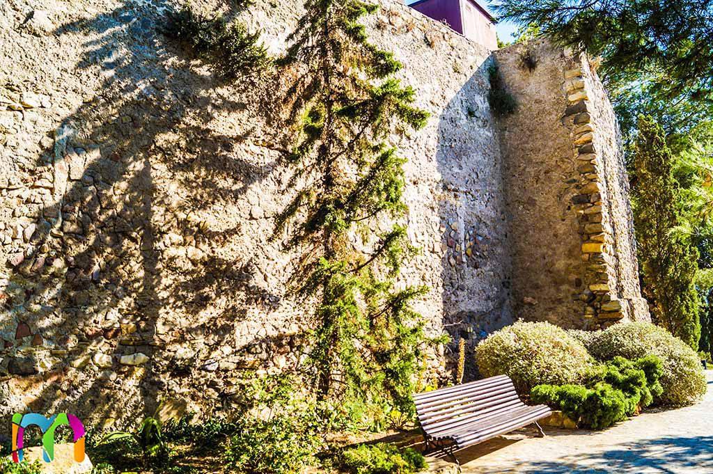 Murallas del parque torres de cartagena