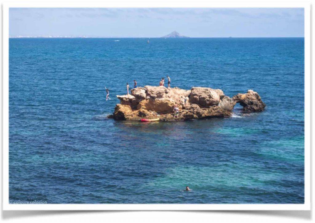 isla del pato cabo de palos