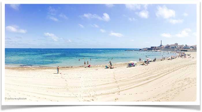 playa de levante cabo de palos