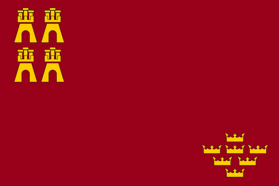 La Bandera de la Región de Murcia: Santo y Seña - Me Encanta Murcia