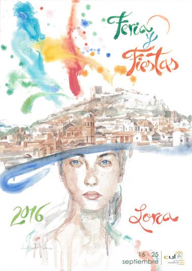 CARTEL FERIA DE LORCA 2016
