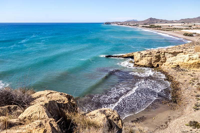 playa de parazuelos calnegre