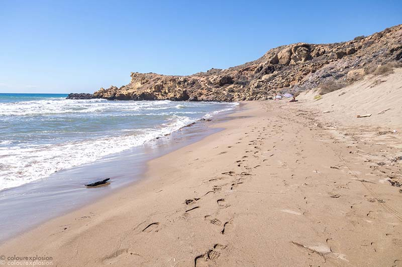 playa de las minas calnegre