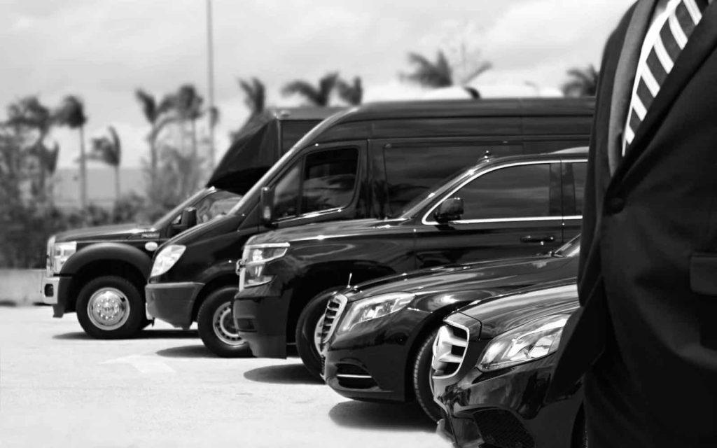 Alquiler de vehiculos con chofer en aeropuerto de Murcia